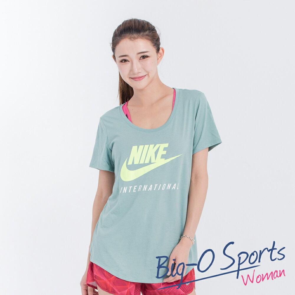 NIKE 耐吉 NIKE TEE-RU W DOT INTL BF 圓領T 女 833891046 Big-O Sports