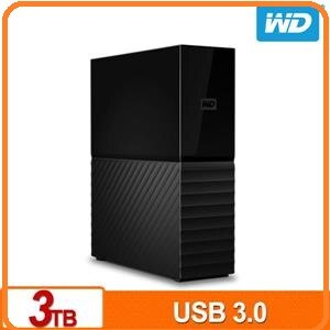 WD My Book 3TB 3.5吋外接硬碟(SESN)WDBBGB0030HBK-SESN