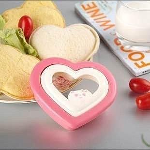 =優生活=三明治模具 愛心吐司模具 愛心造型模具 親子DIY