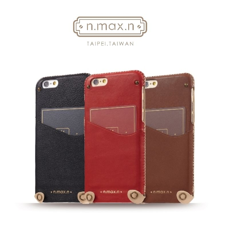 【n.max.n】Apple iPhone 6 plus / iPhone 6s plus 5.5吋 頂級頭層牛皮 下入式保護套