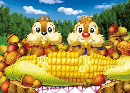 【進口拼圖】迪士尼 DISNEY-奇奇蒂蒂 玉米超好吃 108片 D-108-702