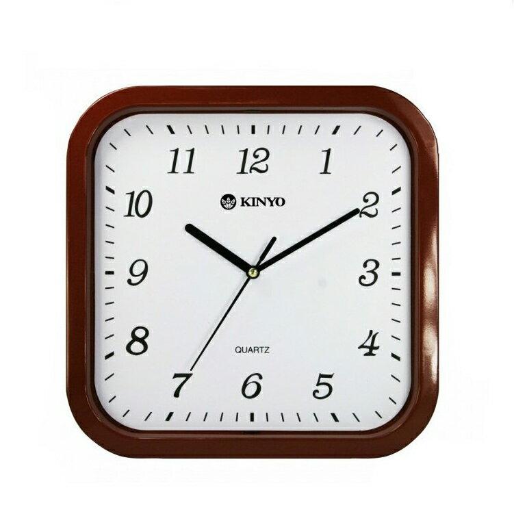 時鐘 賣家送電池 耐嘉 KINYO CL~110 方形靜音掛鐘 掃描機芯 掛鐘 超靜音