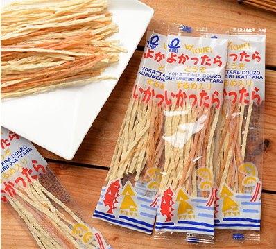 一榮食品 鱈魚花枝絲 -單包 x3袋 (7gx3)