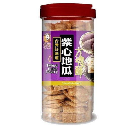 老楊 方塊酥-紫心地瓜 370g