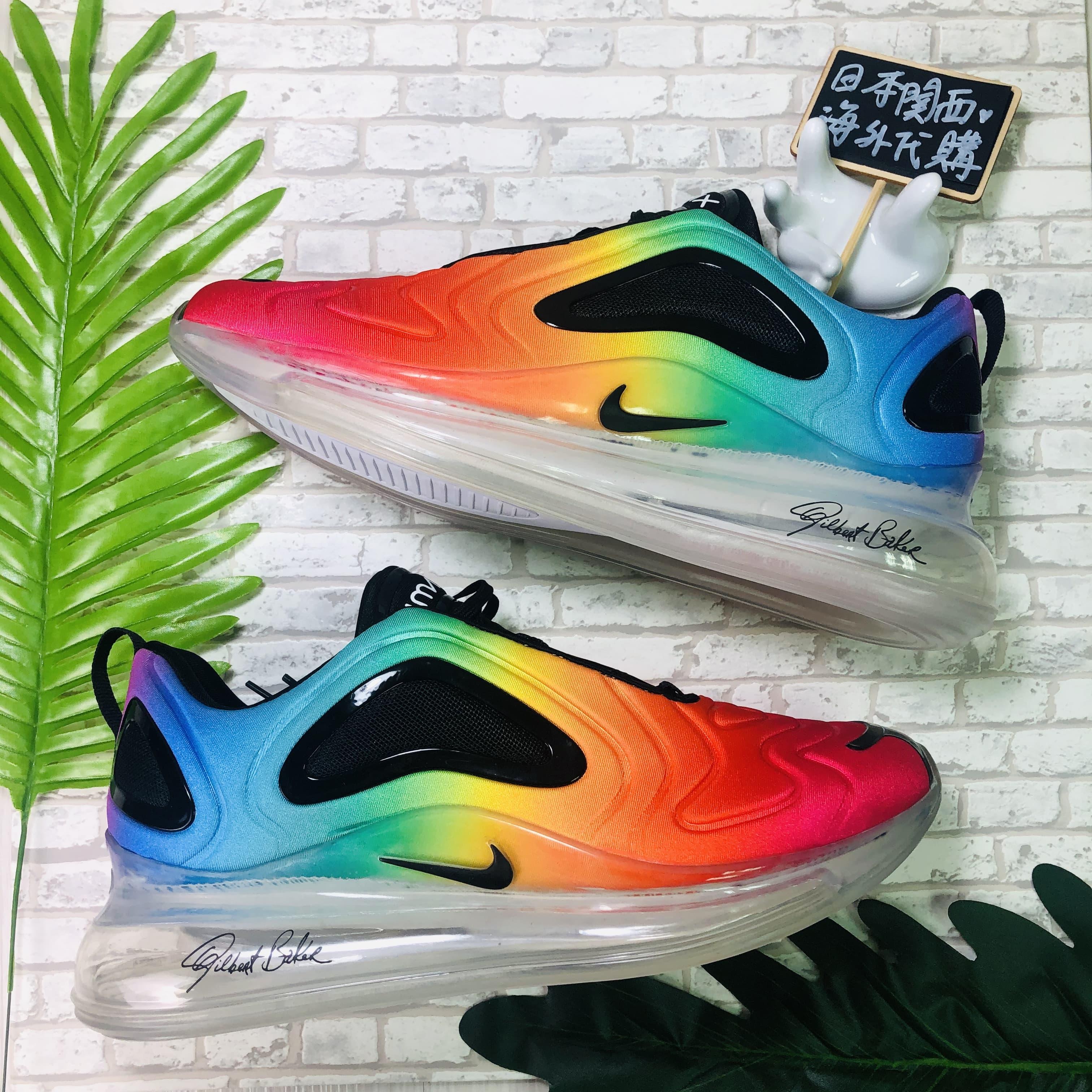 【日本海外代購】NIKE AIR MAX 720 BETRUE 彩虹 彩色 慢跑鞋 全氣墊 情侶 休閒 CJ5472-900
