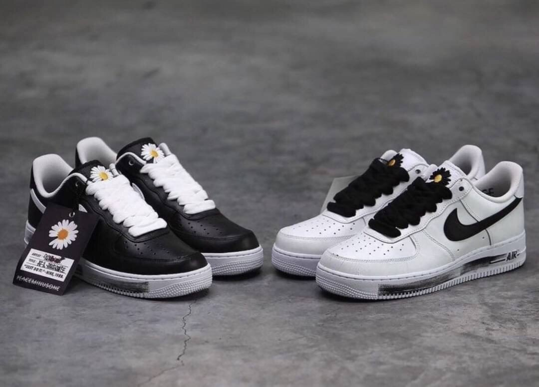 Kumo Shoes-Nike Air Force 1 x GD 男女款 2.0 2代 白黑 雛菊 男女鞋 DD3223-100