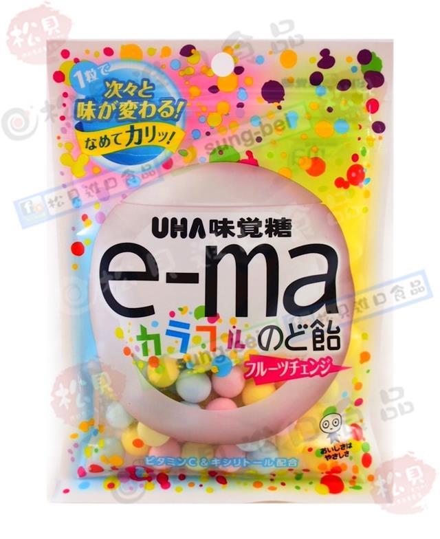 《松貝》味覺e-ma七彩水果喉糖50g【4514062257846】cc12
