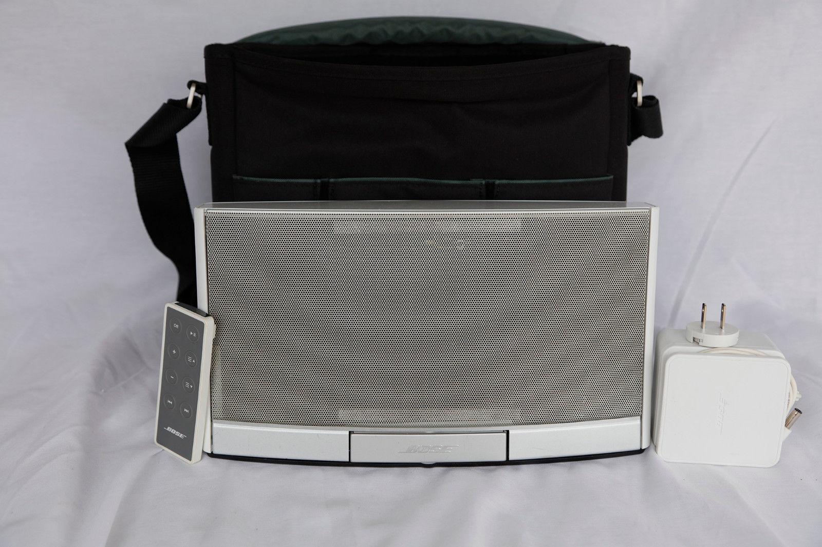 Bose SoundDock Portable Speaker System - Glossy White
