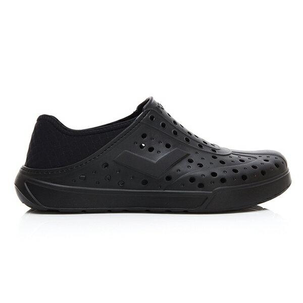 《2019新款》Shoestw【92U1SA03BK】PONY Enjoy 洞洞鞋 水鞋 海灘鞋 可踩跟 懶人拖 菱格紋 全黑 男女尺寸都有 1
