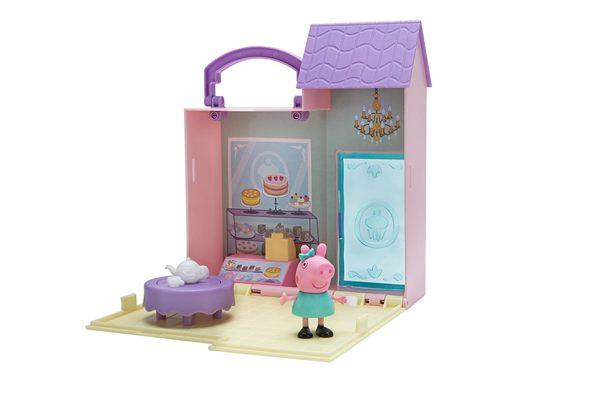 【粉紅豬小妹】可愛商店情境組-麵包店款PE93680
