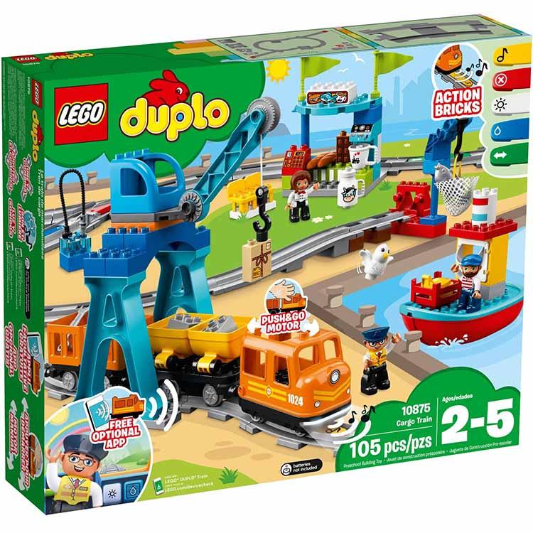樂高LEGO 10875 Duplo 得寶系列 - 貨運列車 - 限時優惠好康折扣