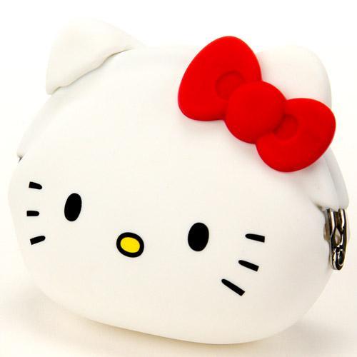 【百倉日本舖】日本進口 POCHI Hello Kitty 零錢包/矽膠零錢包