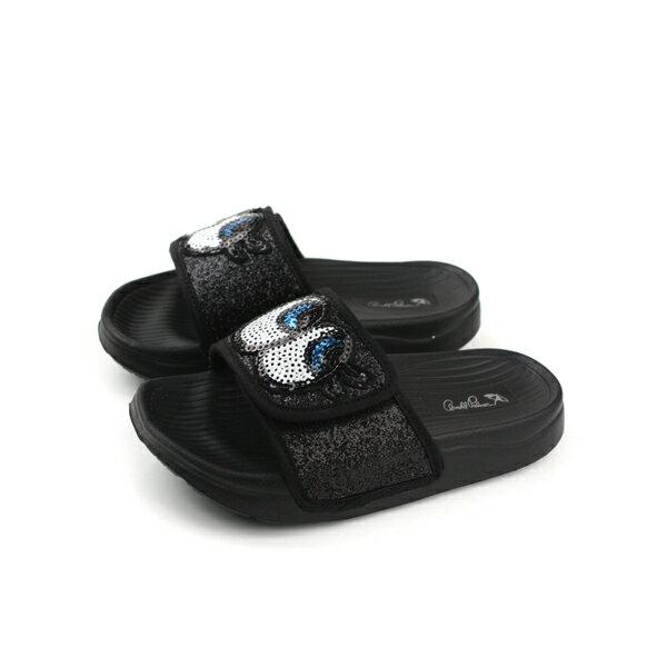 ArnoldPalmer拖鞋黑色亮粉中童童鞋884710-900no934