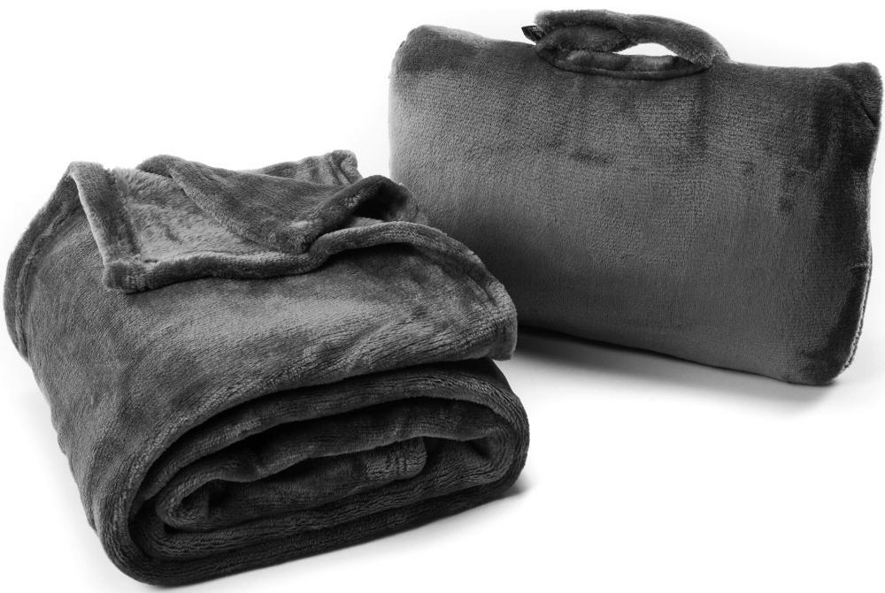Cabeau保暖飛機毯/旅行用飛機毯/旅行毯 Fold 'n Go Blanket 黑
