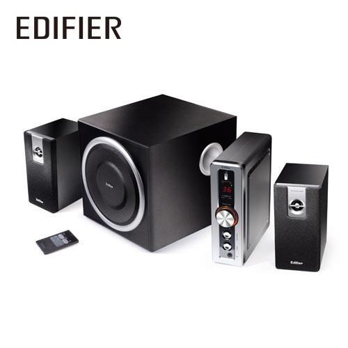 [喬傑數位]EDIFIER C2喇叭(三件式 / 黑色)
