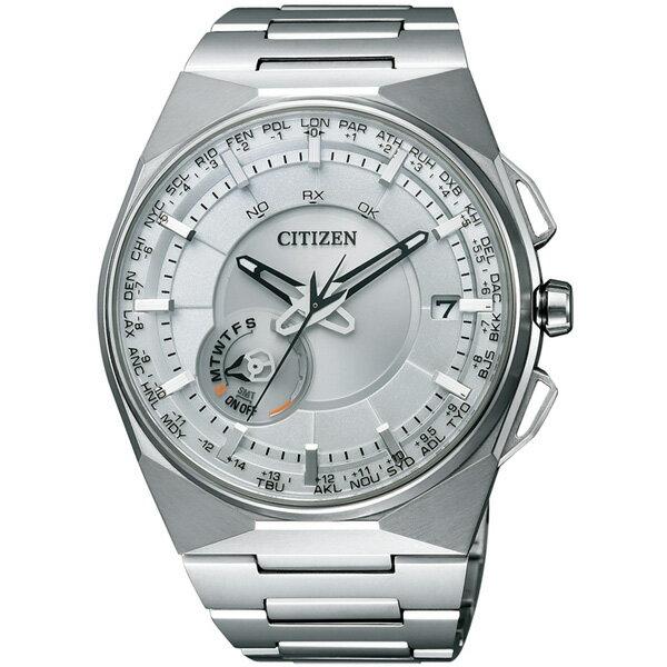 CITIZEN星辰CC2001-57A形象光動能衛星腕錶/白面45mm
