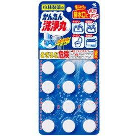 日本製排水口潔淨芳香發泡錠(12枚入)無香型 阿志小舖