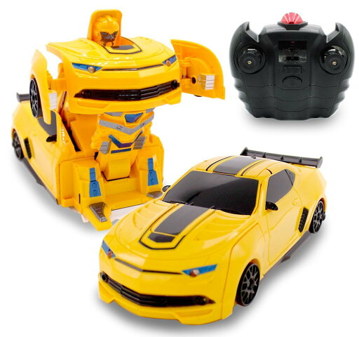 Kids Small RC Toy Transforming Robot Remote Control (3 band) Wall Climbing Sports Car with One Button Transformation 1:24 Scale 3d3b1f1c40d2165bfecd7c34a70e98fc