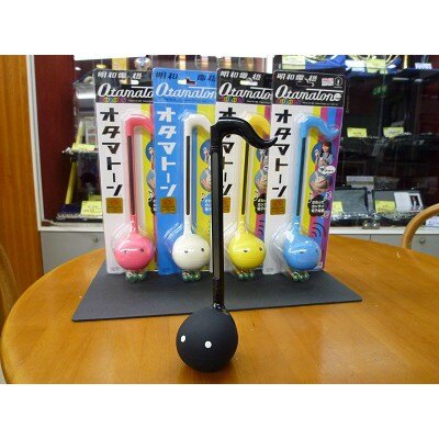 【預購】正版❣特価❣Otamatone 明和電機 音樂蝌蚪電子二胡 玩具 樂器 27cm 黄色【星野日本玩具】