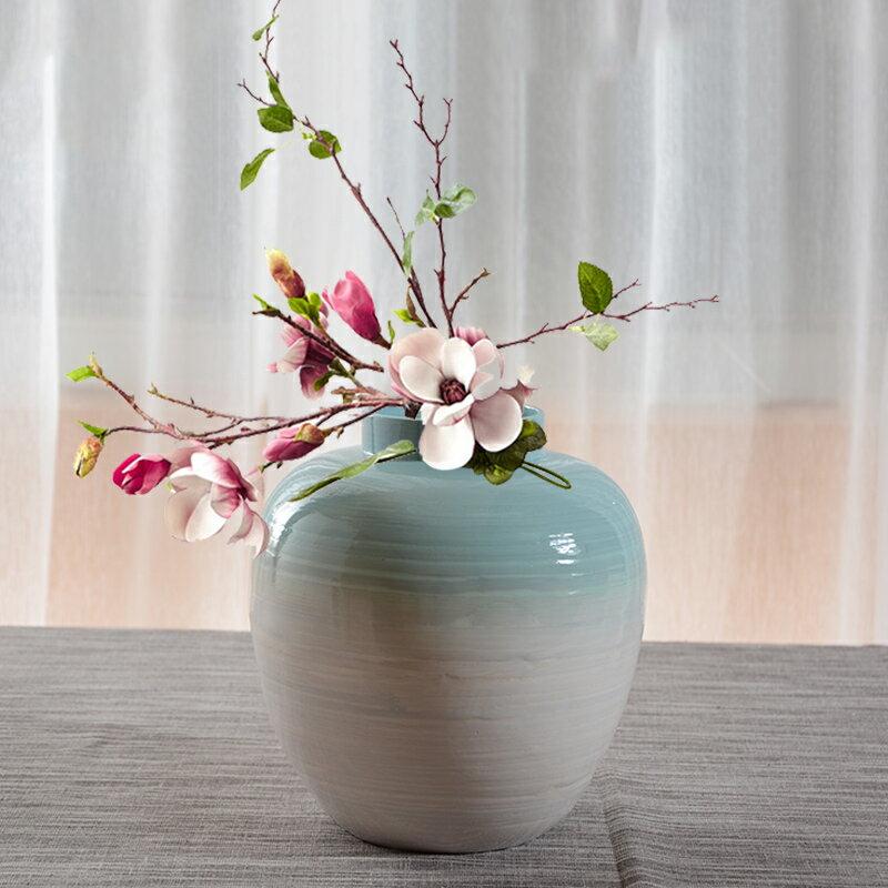 泰吉利 現代簡約客廳創意時尚擺件家居裝飾品 干花花器花瓶花插1入