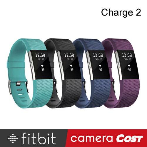 Fitbit Charge 2 無線心率監測專業運動手環 心率 步數 睡眠 穿戴裝置 GPS 可換錶帶 - 限時優惠好康折扣