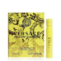 VERSACE凡賽斯 香愛黃鑽女性淡香水 1ml 針管【A005426】《Belle倍莉小舖》