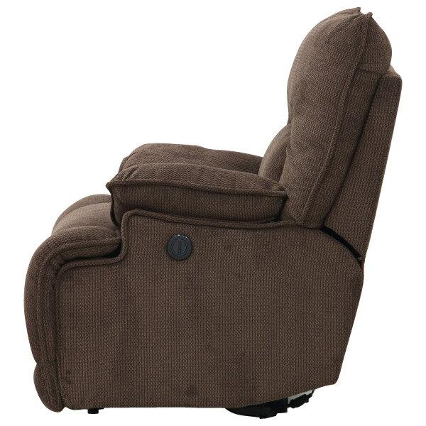 ◎布質1人用電動可躺式沙發 HIT 804 DBR NITORI宜得利家居 2