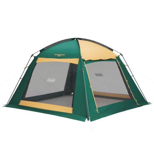 【露營趣】中和 附LED燈條 Coleman CM-27986 4-5人網屋III 炊事帳 客廳帳 附帳篷連接布