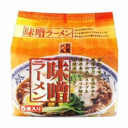 有樂町進口食品 日本進口 創意一品味噌拉麵5入 4517244003798 - 限時優惠好康折扣