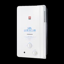 SAKURA櫻花 屋外式RF 12L 熱水器 GH1235 天然 合格瓦斯承裝業 免費基本安裝(離島及偏遠鄉鎮除外)