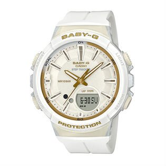 大高雄鐘錶城:CASIOBABY-GBGS-100GS-7A計步功能StepTracker運動數位流行腕錶