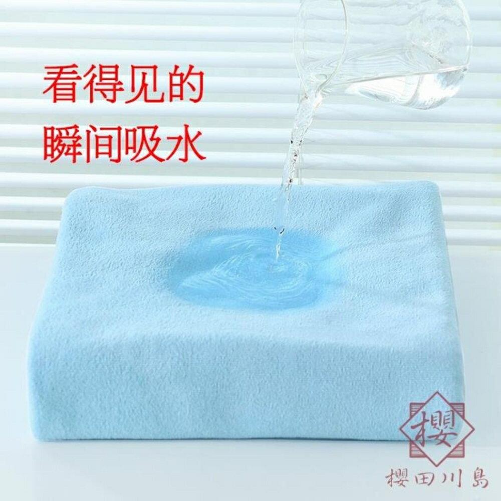 嬰兒純棉紗布超柔吸水毛巾浴巾兒童洗澡【櫻田川島】
