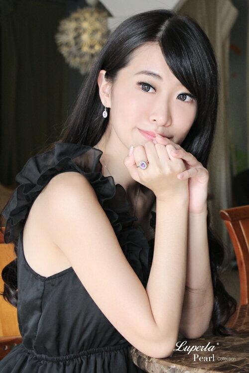 大東山珠寶 紫戀羅蘭 璀璨純銀紫水晶戒指 星座愛情 5