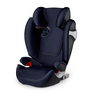 德國【Cybex】Solution M-FIX 汽車安全座椅 (3~12歲) - 深藍色(預購3月底到貨)