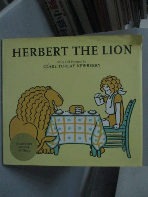 ~書寶 書T1/少年童書_XEY~Herbert the lion_story and p