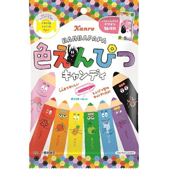 【江戶物語】限定包裝 甘樂 彩色鉛筆造型糖 造型水果糖 KANRO 婚禮糖果 日本原裝 鉛筆糖 開學季 喜糖
