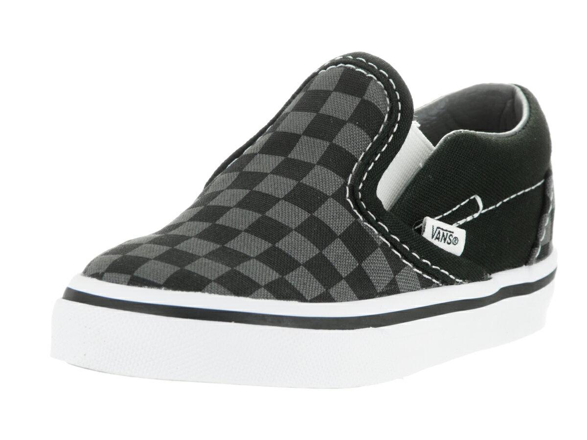b77607d04cf9c7 shoezoo  Vans Toddler Classic Slip-On Skate Shoe