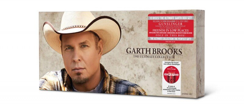 Garth Brooks Ultimate Collection 10 CD Target Exclusive Boxset Gunslinger 1