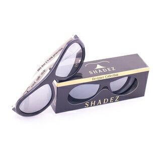 瑞士【SHADEZ】兒童太陽眼鏡設計款-黑色賽車(3-7歲) - 限時優惠好康折扣