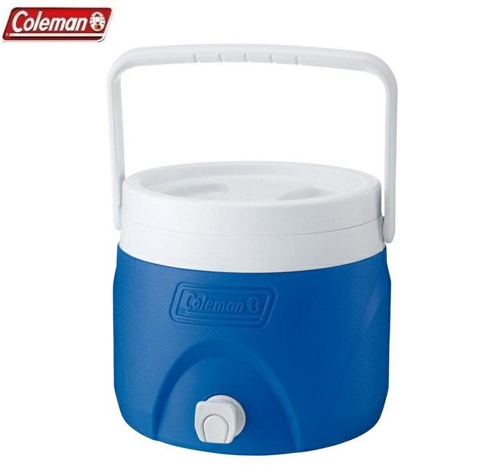[ Coleman ] 7.6L置物型飲料冰桶 藍 / 行動小冰箱 / 保冰袋 / 冰桶 / 公司貨 CM-1363