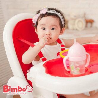 (年後配送)限時限量-台灣製BIMBO超熱賣多功能餐椅-動感紅→FB姚小鳳