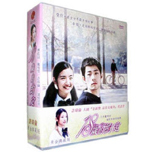 18歲的約定DVD~黃金珍藏版 (全21集) 許瑋倫/施易男/林依晨