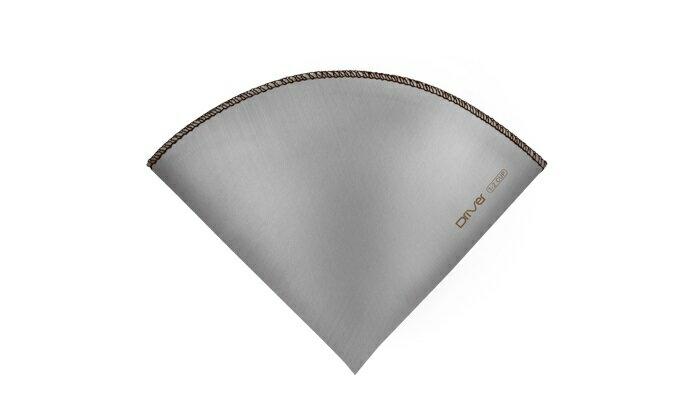 【晨光】台灣製 Driver 錐形不鏽鋼環保濾紙1-2cup-(202389)【現貨】