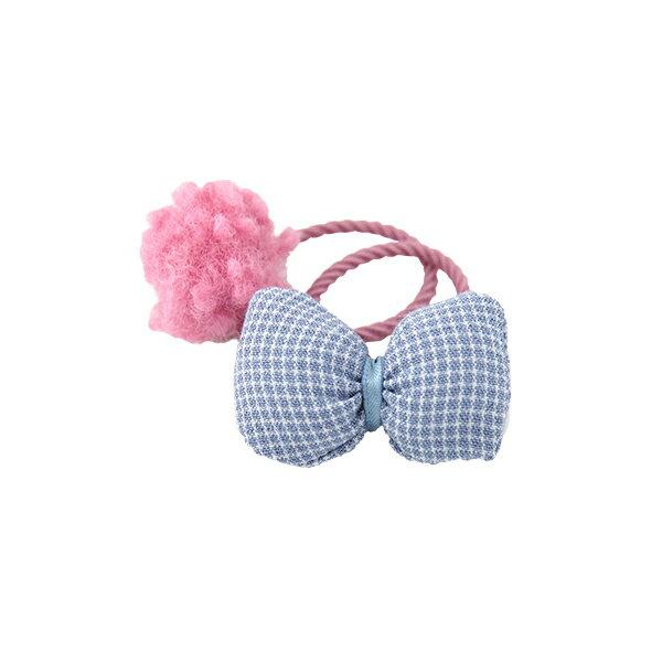 兒童髮飾 羊羔球小皮筋髮圈女童頭飾寶寶髮帶-Joybaby 618購物節