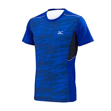 K2TA750121(藍紋X深藍)健身房適用 短袖緊身衣 【美津濃MIZUNO】【品牌盛典 | 滿2000元結帳輸入序號『SUPERBRAND』再9折 | 滿1000元結帳輸入序號『SSthanks100』現折100元】 0