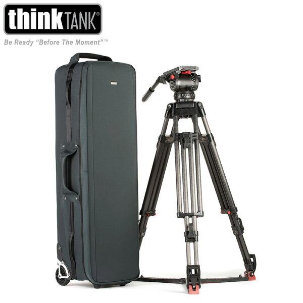 ◎相機專家◎ThinkTank攝影用行李箱腳架收納箱攝影機腳架收納滾輪TT530TTP530公司貨