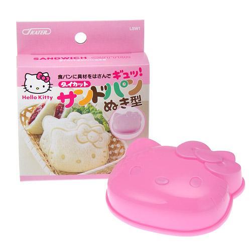 【百倉日本舖】日本製 KITTY造型三明治模型/模具