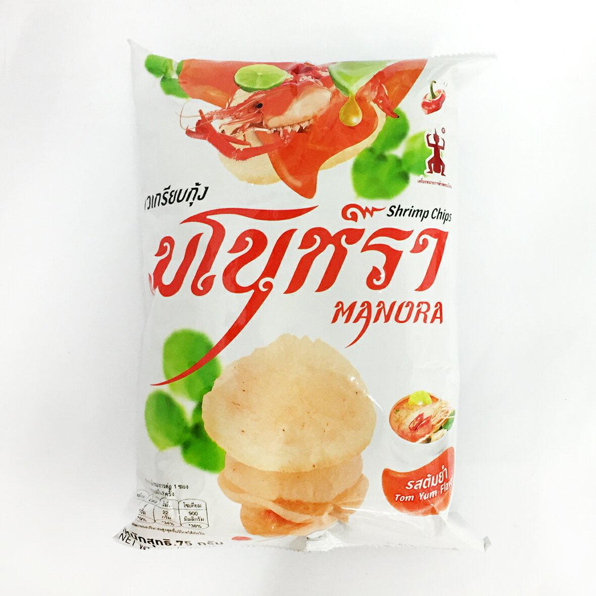 Manora 泰國 酸辣蝦餅 75g