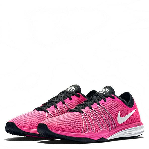 《限時特價↘7折免運》 Nike Dual Fusion Tr Hit Pink 女鞋 慢跑 訓練 粉紅 黑 【運動世界】844674-600