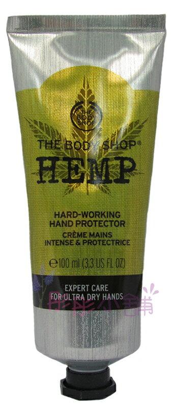【彤彤小舖】The Body Shop 大麻籽密集修護護手霜 100ml 原廠真品輸入 - 限時優惠好康折扣